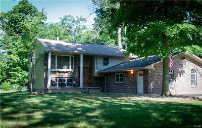 Brookville Single Family Home Active/Pending: 8497 Number Nine Road