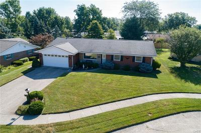 Kettering Single Family Home Active/Pending: 3618 Twinbrook Lane