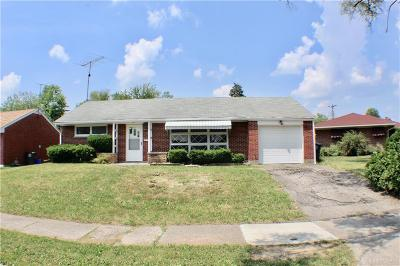 Dayton Single Family Home For Sale: 1507 Academy Place