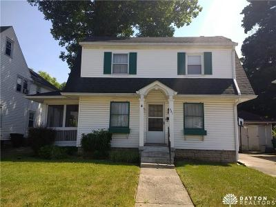 Springfield OH Single Family Home For Sale: $42,900