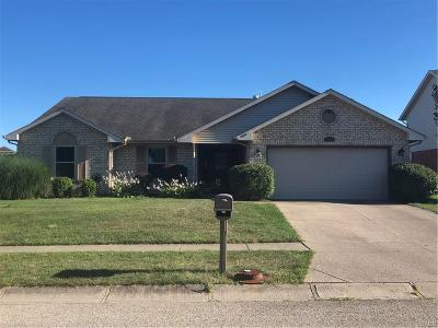 Huber Heights Single Family Home Active/Pending: 6540 Deer Bluff Drive