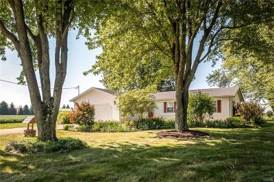 Xenia Single Family Home Active/Pending: 1529 Foust Road