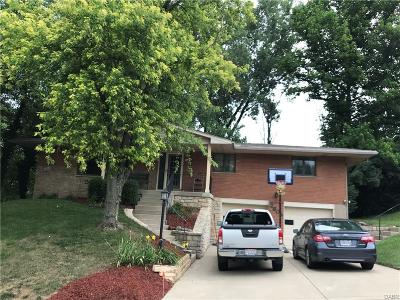 Dayton Single Family Home For Sale: 2609 Clifty Falls Road