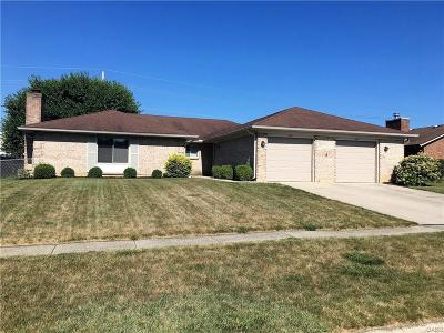 Vandalia Multi Family Home For Sale: 883-885 Bright Avenue