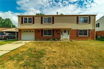 Huber Heights Single Family Home Active/Pending: 6531 Menlo Way