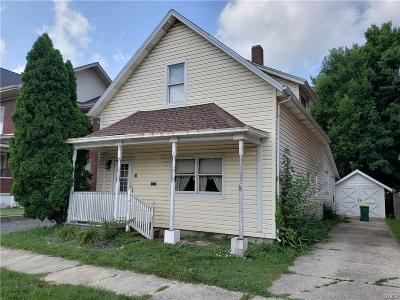 Jamestown Vlg OH Single Family Home For Sale: $59,000