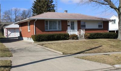 Dayton Single Family Home For Sale: 5404 Underwood Road