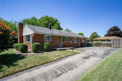 Dayton Single Family Home For Sale: 3017 Hobart Avenue