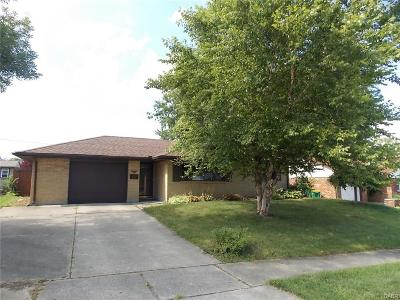 Fairborn Single Family Home For Sale: 222 Blair Drive