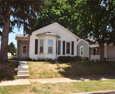 Tipp City Single Family Home For Sale: 228 4th Street