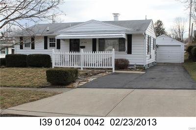 Dayton Single Family Home For Sale: 920 Wake Forest Road