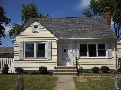 West Milton Single Family Home Active/Pending: 134 McKinley Avenue