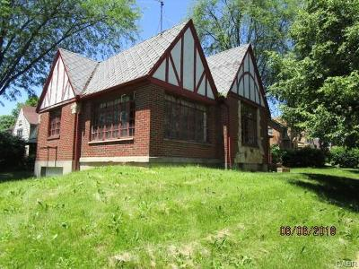 Dayton OH Single Family Home For Sale: $36,400