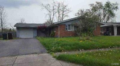 Dayton OH Single Family Home For Sale: $33,440