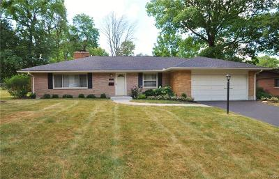 Dayton OH Single Family Home For Sale: $125,900
