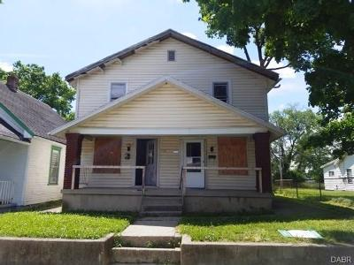 Dayton OH Multi Family Home For Sale: $18,700