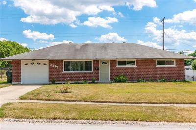Dayton OH Single Family Home For Sale: $114,900