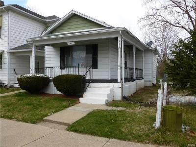 Springfield OH Single Family Home For Sale: $39,950
