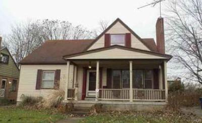 Dayton OH Single Family Home For Sale: $71,440