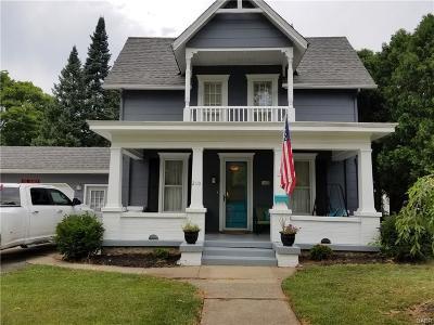Urbana Single Family Home Active/Pending: 210 Henry Street