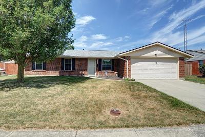 Dayton Single Family Home For Sale: 7654 Sebring Drive