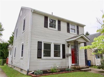 Dayton OH Single Family Home For Sale: $89,900