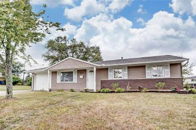 Huber Heights Single Family Home For Sale: 6351 Holbrook Drive