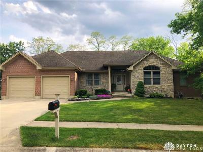 Miamisburg Single Family Home Active/Pending: 1410 Belvo Estates Drive