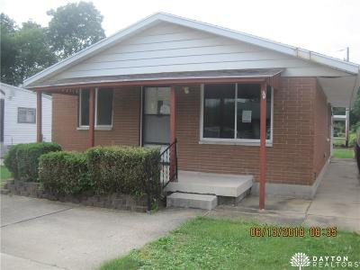 Dayton OH Single Family Home For Sale: $38,900