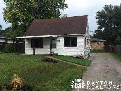 Fairborn Single Family Home Active/Pending: 1936 Zimmerman Road
