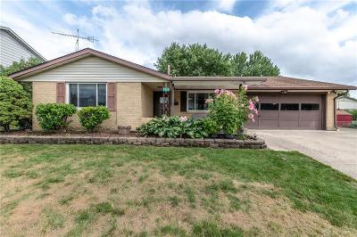 Huber Heights Single Family Home For Sale: 7312 Troy Manor Road