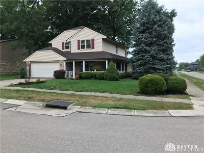 Huber Heights Single Family Home Pending/Show for Backup: 8991 Willowgate Lane