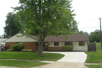Huber Heights Single Family Home For Sale: 5453 Coleraine Drive