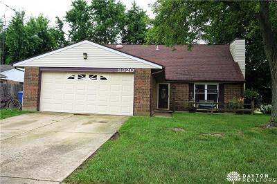 Huber Heights Single Family Home For Sale: 8920 Swinging Gate Drive