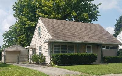 Dayton Single Family Home For Sale: 2041 Gay Drive