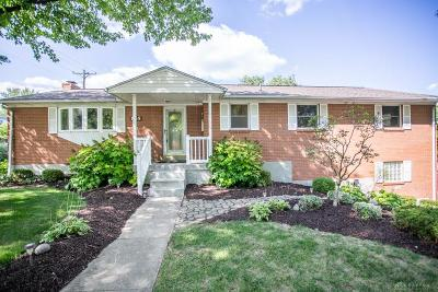 Kettering Single Family Home For Sale: 855 David Road