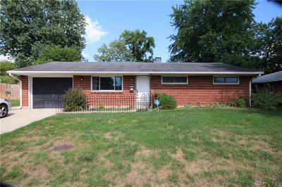 Dayton Single Family Home For Sale: 6620 Rosebury Drive