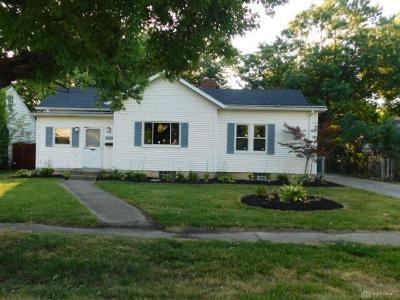Dayton Single Family Home For Sale: 2912 California Avenue