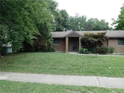 Dayton Single Family Home Active/Pending: 2921 Shively Court