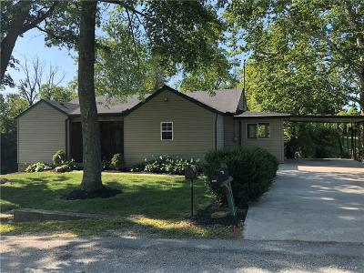 Brookville Single Family Home Active/Pending: 10706 Heeter Road