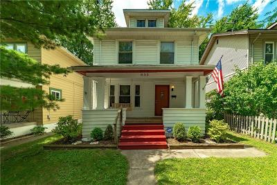 Dayton Single Family Home For Sale: 633 Creighton Avenue