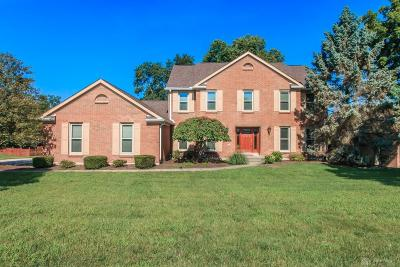 Springboro Single Family Home For Sale: 8747 Tanglewood Drive