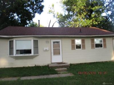 Dayton Single Family Home For Sale: 1526 Joselin Road