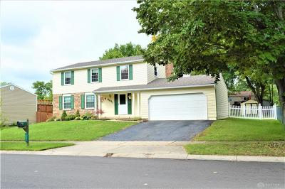Dayton Single Family Home Active/Pending: 4831 Amberwood Drive