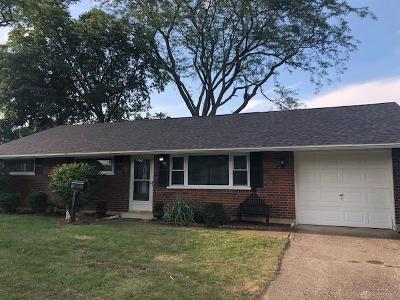 Dayton Single Family Home For Sale: 2209 Mattis Drive