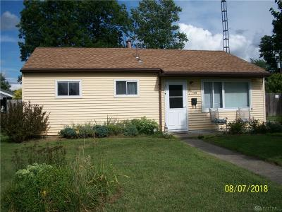 Vandalia Single Family Home Active/Pending: 138 Westhafer Road