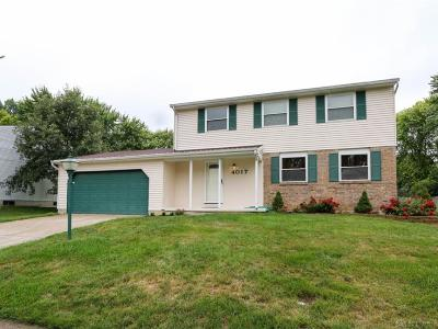 Dayton Single Family Home For Sale: 4017 Rundell Drive