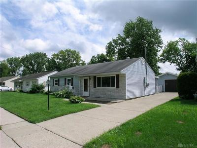 Dayton Single Family Home For Sale: 2448 Aragon Avenue