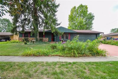 Huber Heights Single Family Home For Sale: 4566 Powell Road