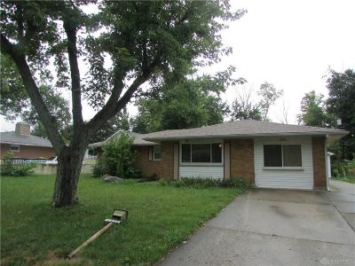 Dayton Single Family Home For Sale: 5956 Woodmore Drive